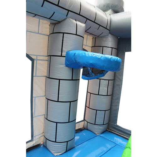 Acquista il castello gonfiabile con scivolo Drago