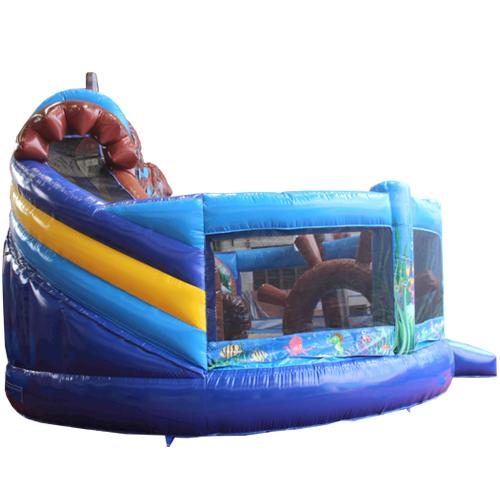 Acquista il gonfiabile con scivolo Multiplay Mondo sottomarino